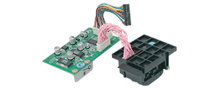 Magnetic stripe encoding module